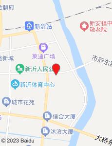 新沂旅游地图