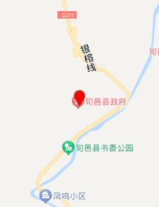 旬邑旅游地图