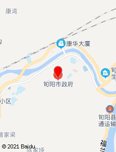 旬阳旅游地图