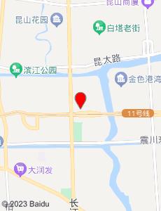 昆山旅游地图