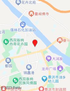 景洪旅游地图
