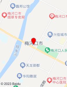梅河口旅游地图