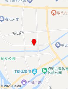 江都旅游地图