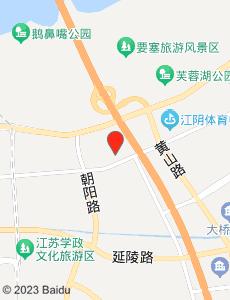 江阴旅游地图