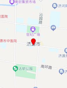 济源旅游地图