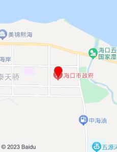 海口旅游地图