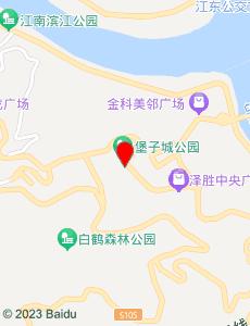涪陵旅游地图