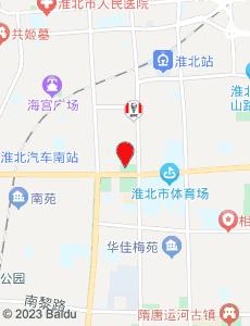 淮北旅游地图