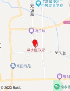 溧水旅游地图