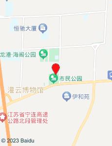 灌云旅游地图