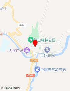 灵台旅游地图