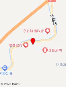 理县旅游地图
