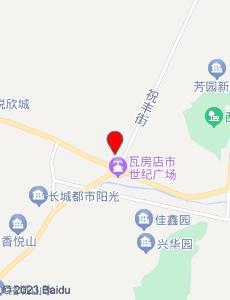 瓦房店旅游地图