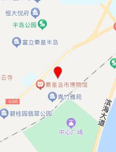 秦皇岛旅游地图