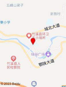 竹溪旅游地图