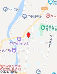 红安旅游地图