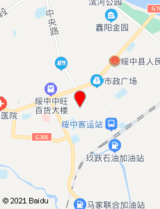 绥中旅游地图
