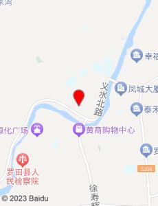 罗田旅游地图