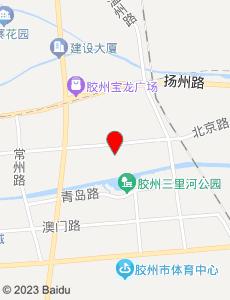 胶州旅游地图