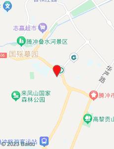 腾冲旅游地图