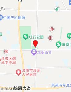 莱芜旅游地图
