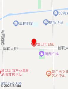 营口旅游地图