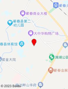 蕲春旅游地图