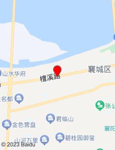 襄樊旅游地图