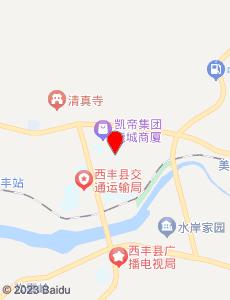 西丰旅游地图