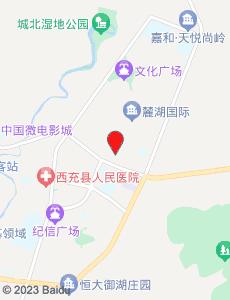 西充旅游地图