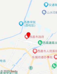 西昌旅游地图
