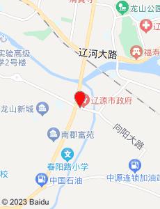 辽源旅游地图