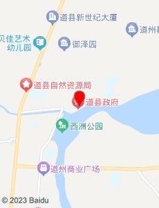 道县旅游地图