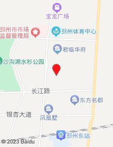 邳州旅游地图