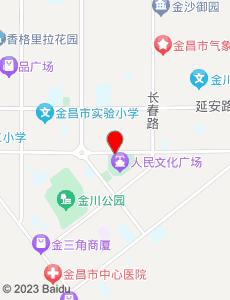 金昌旅游地图