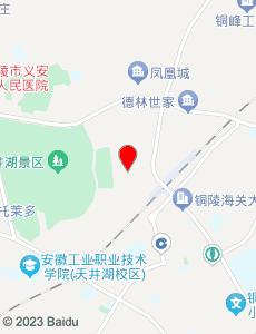 铜陵旅游地图
