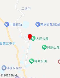 镇雄旅游地图