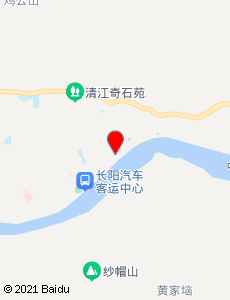 长阳旅游地图