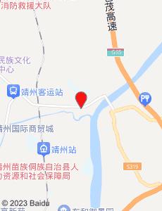 靖州旅游地图