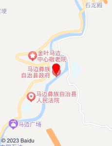 马边旅游地图