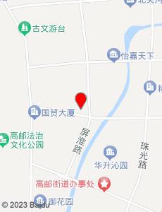 高邮旅游地图
