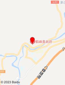 鹤峰旅游地图