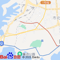 qingdao map