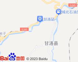凉山甘洛县电子地图