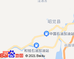 凉山昭觉县电子地图