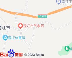 澄江电子地图