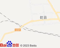 乾县电子地图