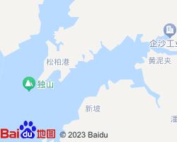 防城港港口区电子地图
