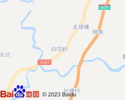玉林博白县电子地图