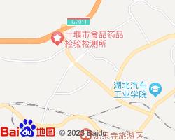 十堰张湾区电子地图